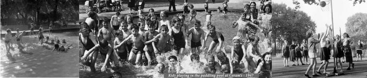 Kids activities in Coram's Fields.