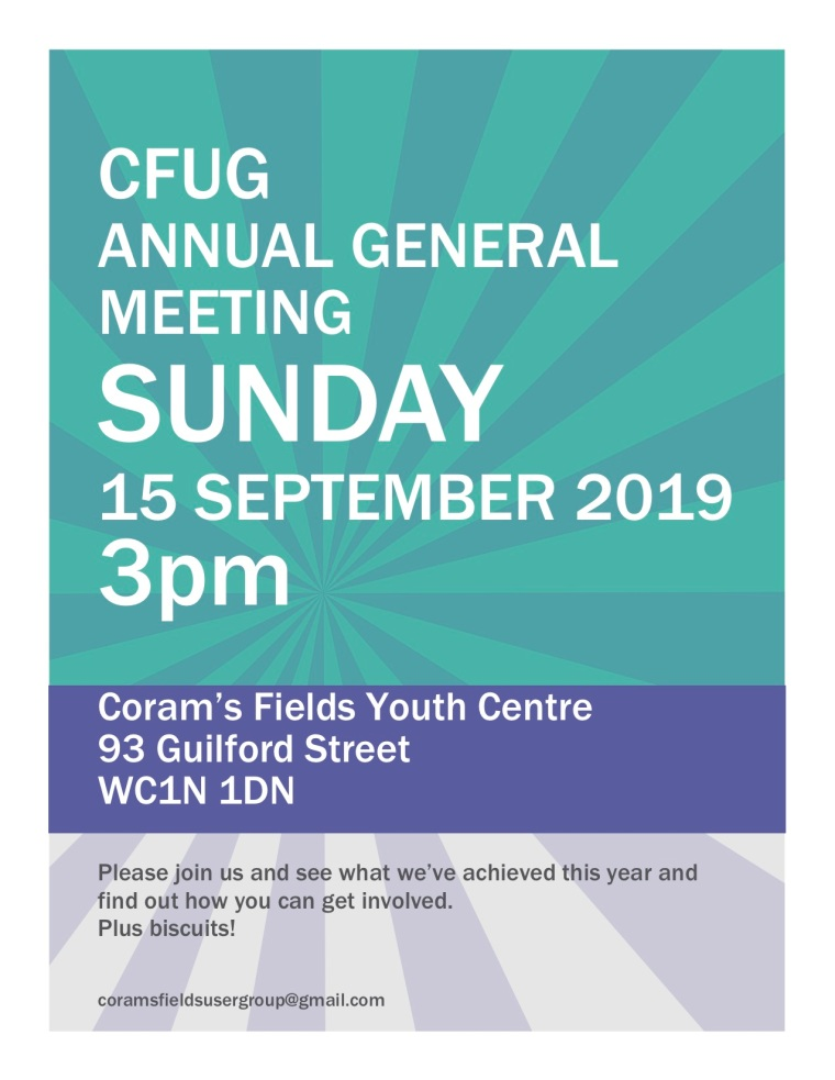 CFUG poster AGM 2019